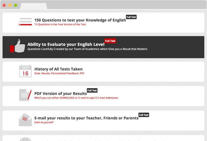 English Language Diagnostic Test